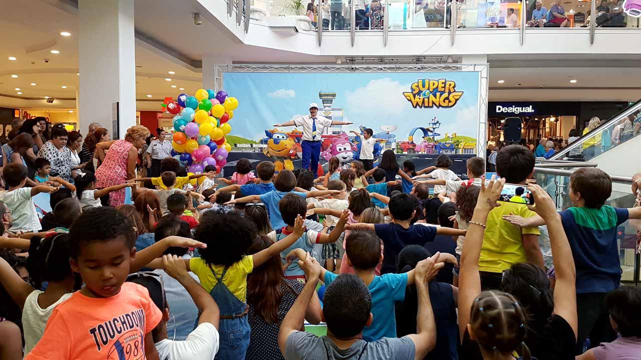 Eventos para niños en centros comerciales