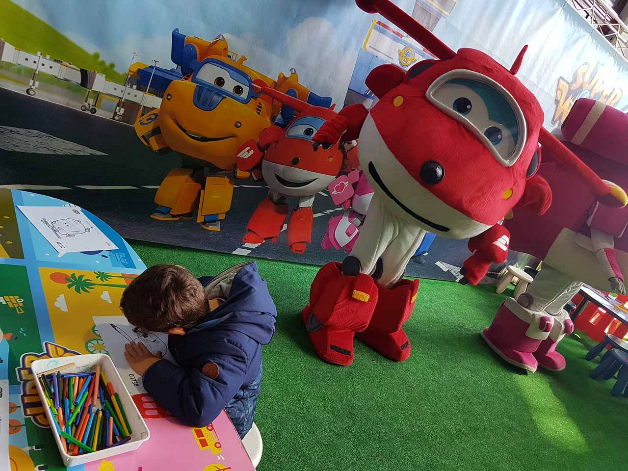 Show super wings